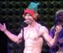 Watch Broadway's Nick Adams Strip on Stage While Singing a Holiday Medley