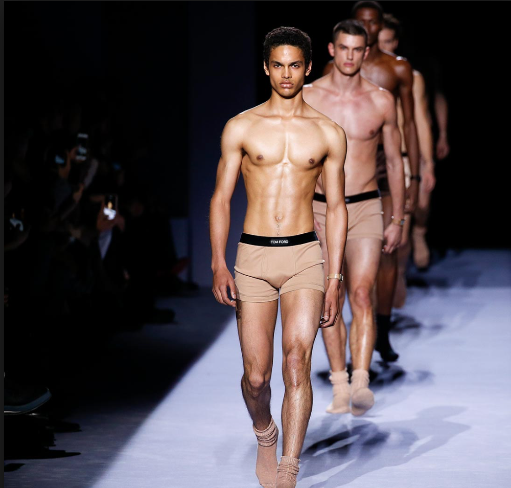 Male underwear fashion show video 31