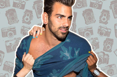 photos of Nyle DiMarco on subway